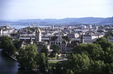 Schweiz, Zürich, Stadtbild