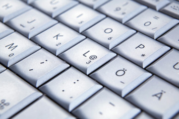 Computer Tastatur, close-up