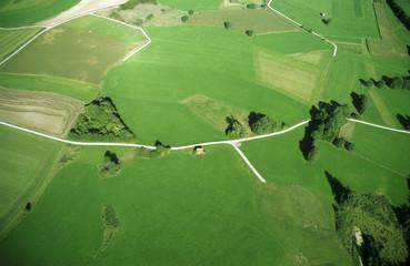 Deutschland, Felder, Luftbild