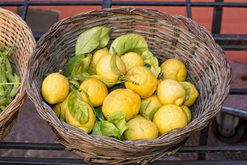 Italian yellow Lemons
