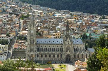 Views of Basílica del voto nacional