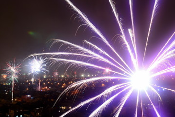 Fireworks over Bataysk