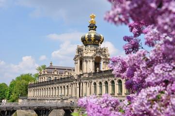 Zwinger in Dresden, Sachsen