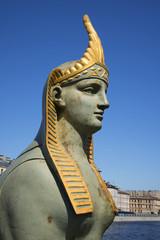 Сфинкс. Фрагмент скульптуры на Египетском мосту