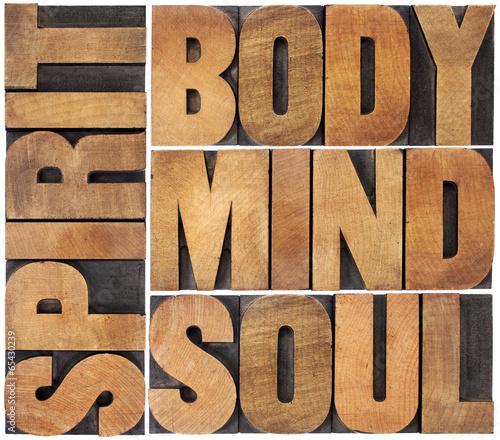 body, mind, soul and spirit