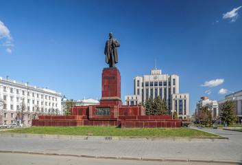 Казань Площадь Свободы Памятник В. И. Ленину