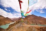 Beautiful view from Simi La pass near Manla Reservoir, Tibet