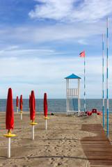 Empy Sandy Beach