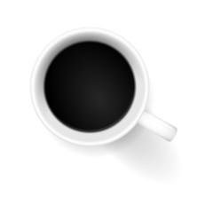 kaffeetasse von oben I