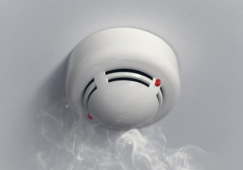 working smoke alarm
