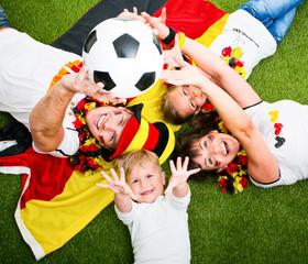 Fußball Fans Deutschland Jubeln