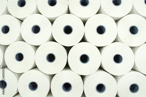 Background from paper rolls - 65435055