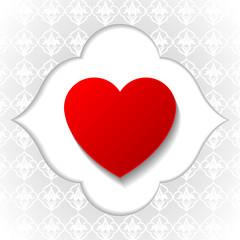 Dekoratif Kalp İkonu