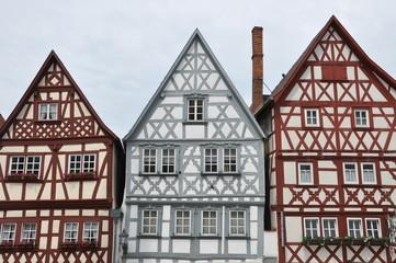 Fachwerkhäuser in Ochsenfurt