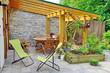 terrasse de maison - 65436067