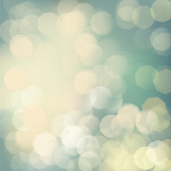 Bokeh background Vintage tone, Vector eps10