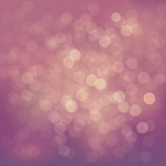 Bokeh red background Vintage tone, Vector eps10