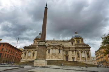 The Basilica di Santa Maria Maggiore, Rome