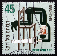 Postage stamp Germany 2007 Karl Valentin, Writer