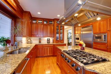 Luxury kitchen room