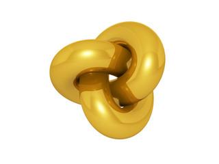 Sign of golden infinite