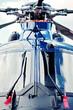 Moderner Hubschrauber – Vorderansicht