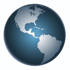 Yer küre  (Amerika  Kıtası 2 )