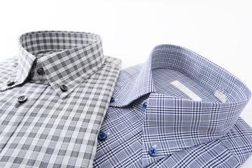 チェック柄のシャツ