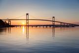 Newport Bridge Sunrise - 65442888