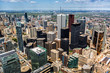 Aerial view of the Toronto skyline