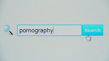 Pornography - browser search query, Internet web page