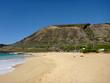 Sandy Beach Park on the southern coast of Oahu, Hawaii