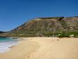 Sandy Beach Park on the southern coast of Oahu, Hawaii