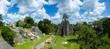 Guatemala Tikal  - Panorama View of Ruins
