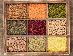 Mix from various legume