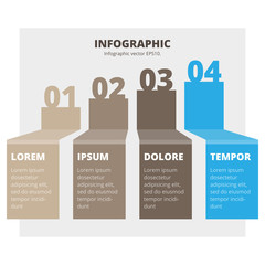 Abstract infographic chart
