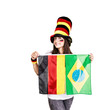 Deutscher Fußballfan Wm Brasilien