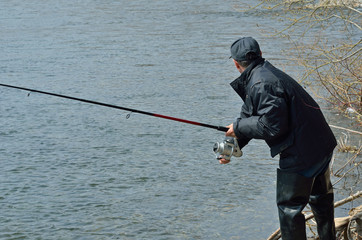 Man on fishing 6
