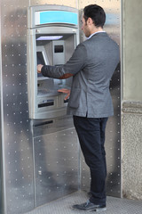 Man at the ATM