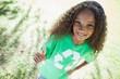 Young environmental activist smiling at the camera - 65452859