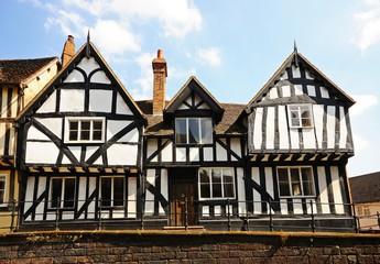 Old timbered building, Warwick, England © Arena Photo UK