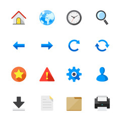 Website Icons and Toolbar Icons