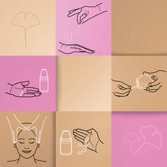 Homöopathie - Icons