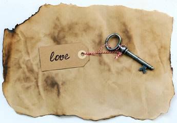 Old, ornate key