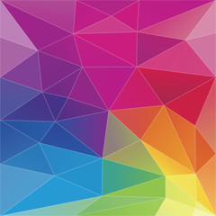 Abstract Geometric Triangle Background.Vector
