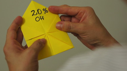 Origami Game Discount 20 Percent