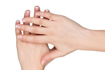 Woman hands