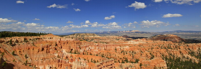 panoramique sur inspiration point, Bryce canyon