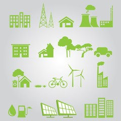 renewable city  green