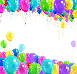 Banner of balloons
